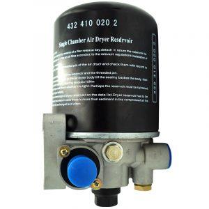 Filtro Secador de aire de cámara única con regulador de presión integrado 20884103