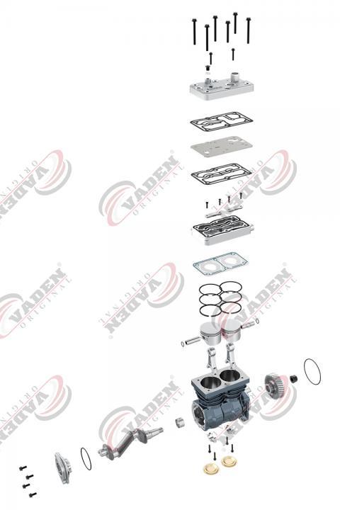 compresor vaden doble cilindro
